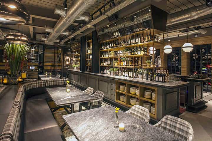 I trend del 2018 per arredare il tuo locale localiarreda for Bar stile industriale