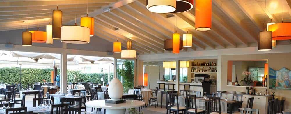 Illuminazione ristorante Localiarreda