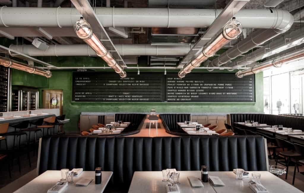Consigli stile industriale ristorante Localiarreda