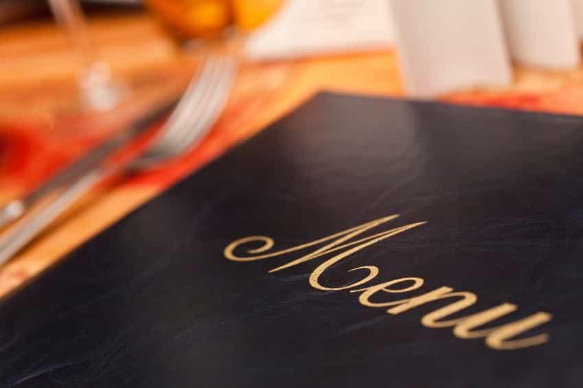consigli per incassare di più con menù ristorante localiarreda